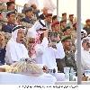 النعيمي يشهد العرض العسكري للقوات المسلحة بمناسبة احتفالات اليوم الوطني الــ 43 .